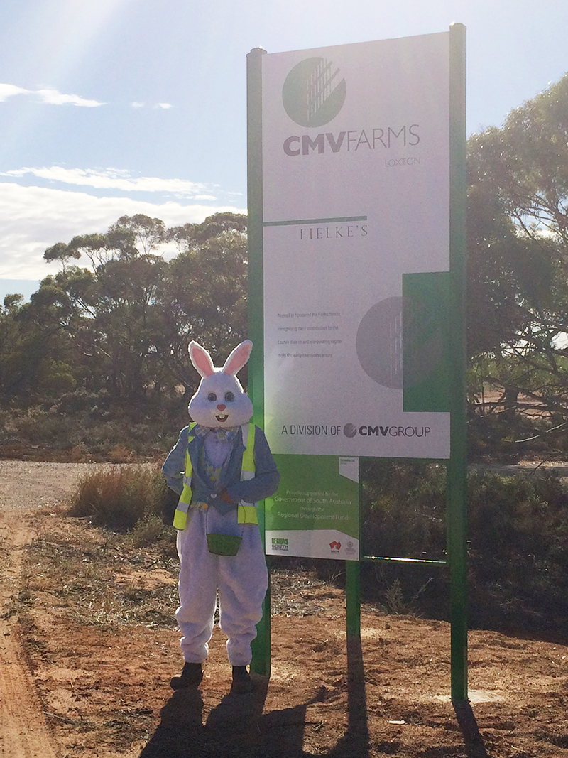 CMV Farms Loxton Fielke's Easter