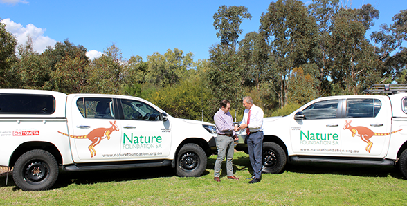 CMV Group Foundation donation to Nature Foundation SA