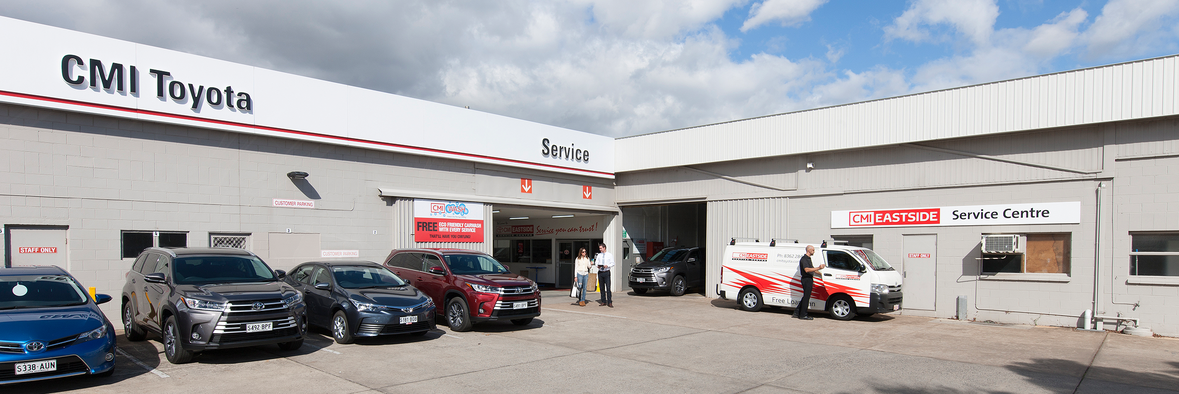 CMI Toyota Eastside, Stepney - CMV Group